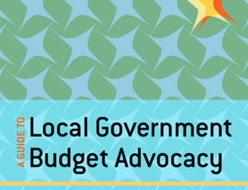 A Guide to Local Government Budget Advocacy in South Africa