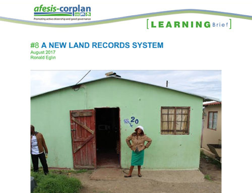 Learning Brief #8: A New Land Records System
