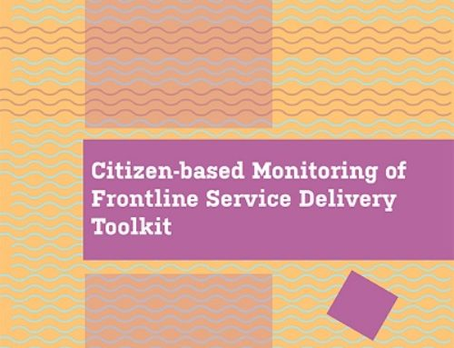 Citizen-based Monitoring of Frontline Service Delivery Toolkit for Freedom House South Africa