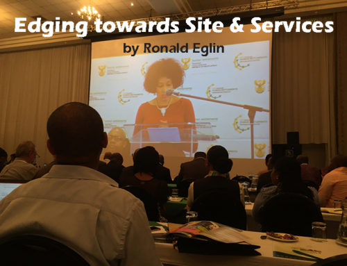 Edging towards Site and Services