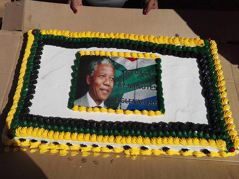 Mandela Day in Glenmore