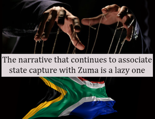 The narrative that continues to associate state capture with Zuma is a lazy one