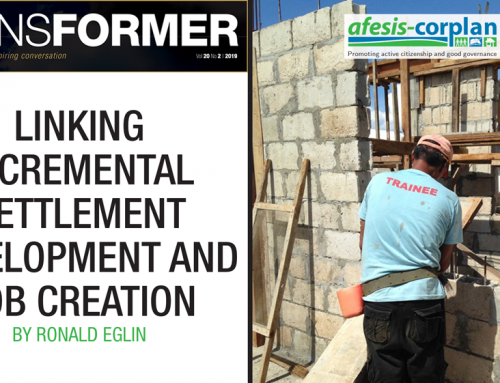 Transformer Volume 20 Number 2 Article: Linking incremental settlement development and job creation