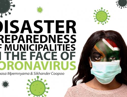 Disaster preparedness of municipalities in the face of Coronavirus