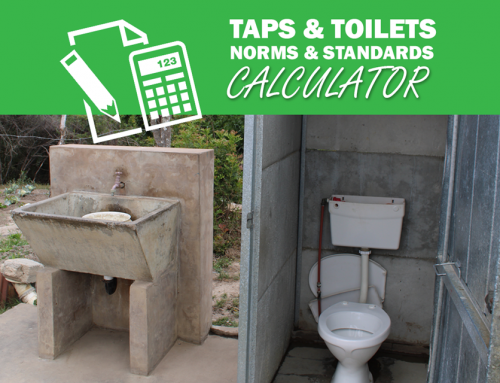 Norms and standards for taps and toilets in informal settlements