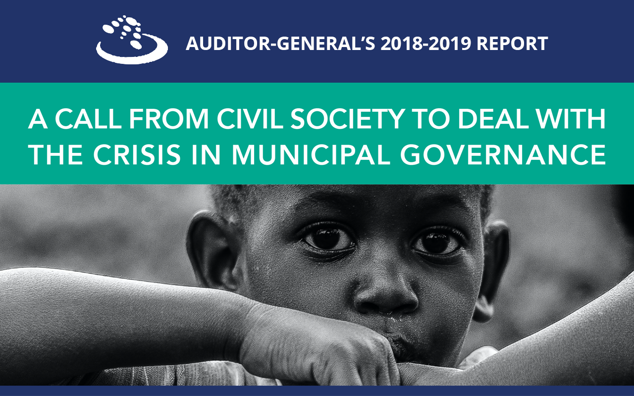 Civil Society Response to the Auditor-General's 2018/19 Report
